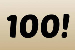 100 jäsentä